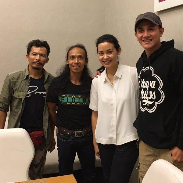 Sheila Timothy, Vino G. Bastian, Yayan Ruhiyan, dan Cecep Arief Rahman