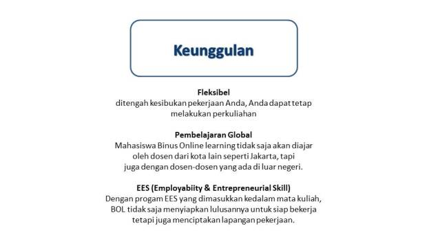 keunggulan Binus Online Learning