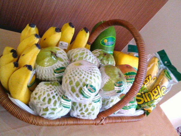 paket buah sunpride