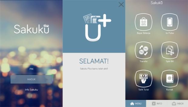 aplikasi BCA Sakuku
