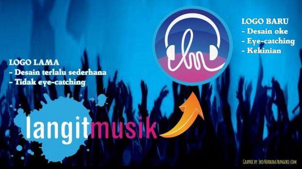 perubahan logo Langit Musik