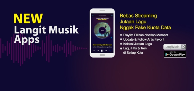 new Langit Musik Apps