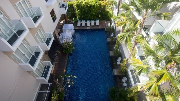 swimming pool Grand Ixora Kuta Resort