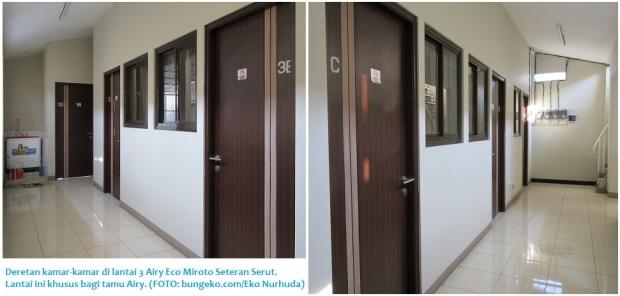 selasar kamar Airy Eco Miroto Seteran Serut, Semarang