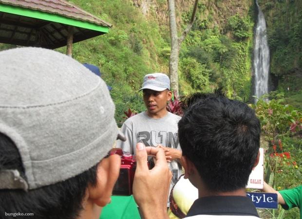 Abdullah Pokdarwis Curug Bajing, Petungkriyono