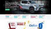 homepage website Mobil123.com