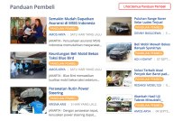 homepage website Mobil123.com