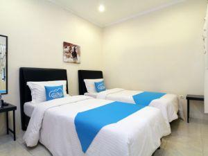 kamar twin bed Airy Eco Senen Kramat Lima 3G Jakarta Pusat