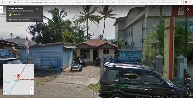kantor PDAM Tirta Ayumi Padangsidimpuan