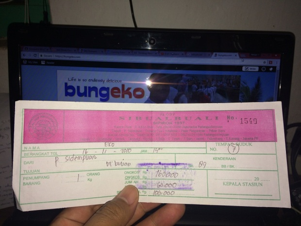 tiket bus Sibualbuali