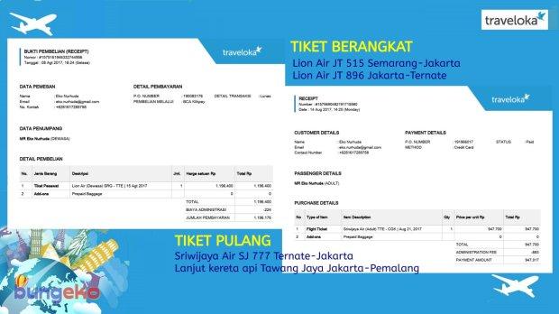 tiket pesawat ke Ternate