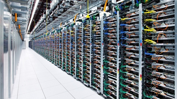 server at Google datacenter, Mayes County-Oklahoma