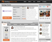 Hostinger reviews at HostingAdvice.com