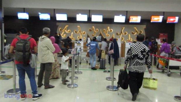 check in di Bandara Adisucipto, Jogja