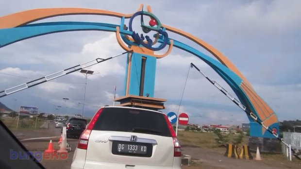 Gapura Pelabuhan Perikanan Nusantara Ternate