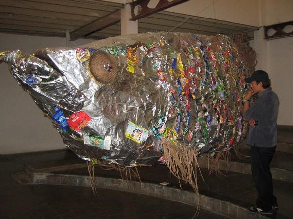 Karya seni instalasi di Jogja National Museum