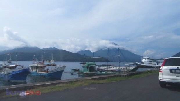 Dermaga Pelabuhan Perikanan Nusantara Ternate