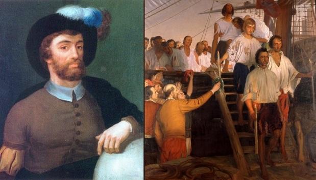 Juan Sebastian Elcano kembali ke Spanyol