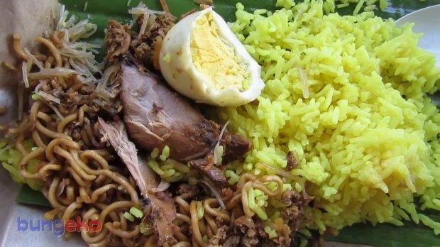 Nasi kuning Tidore