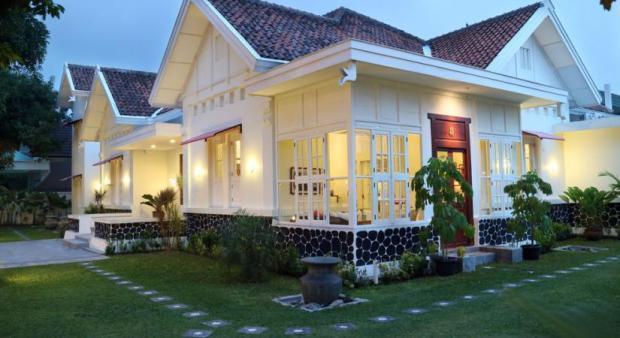 rumah kuno di Kotabaru, Jogja