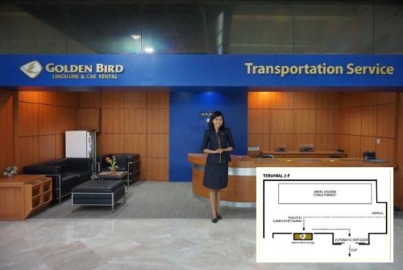 loket Golden Bird bandara Soekarno-Hatta