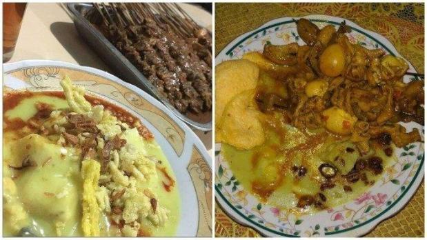 Kupat glabed kuliner Tegal