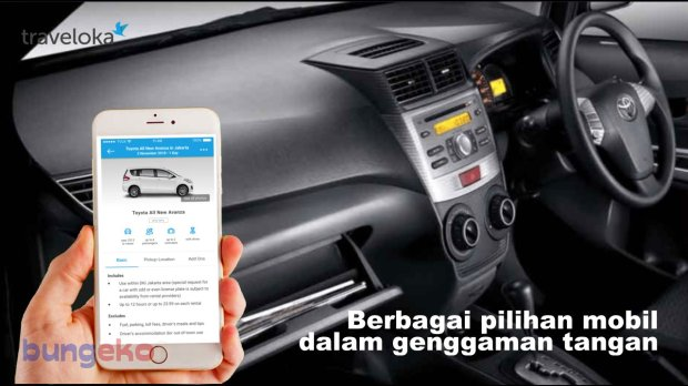 car rental mobil Traveloka
