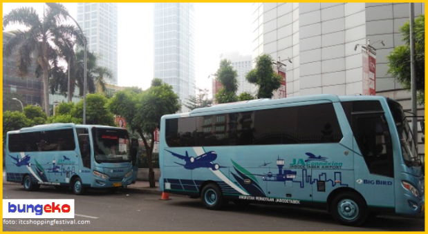 bus bandara Big Bird