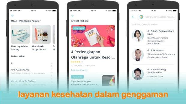 SehatQ, layanan kesehatan dalam genggaman