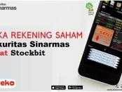 Buka rekening saham Sinarmas Sekuritas lewat Stockbit
