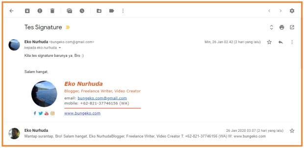 Email signature bungeko.com