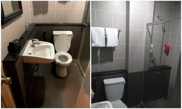 Kamar mandi Hotel Pitagiri