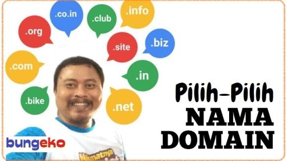 kiat memilih nama domain blog