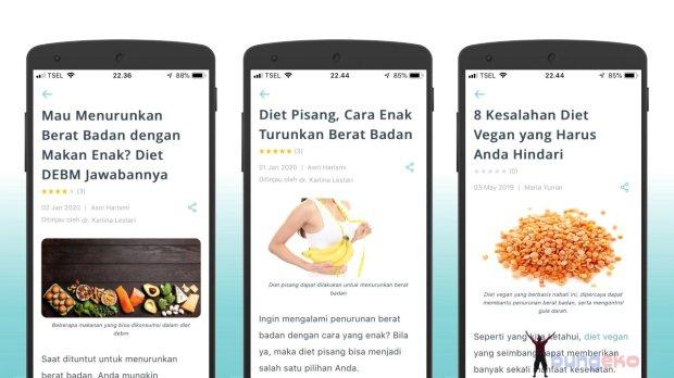 artikel tentang diet di SehatQ