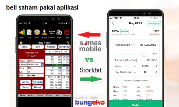 Simas Mobile vs Stockit