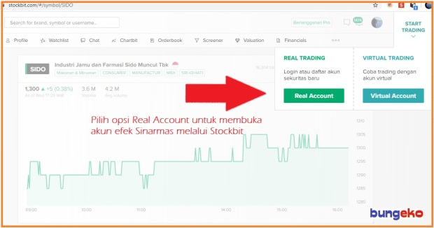 Stockbit real account
