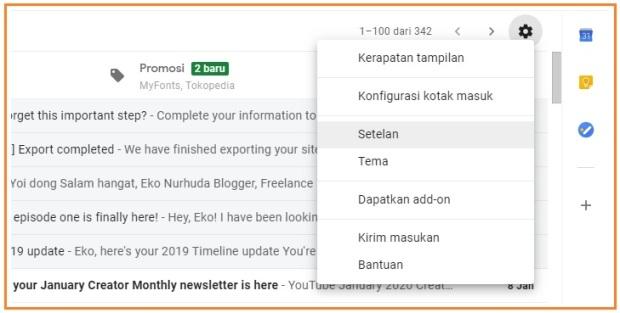 Tutorial buat email signature