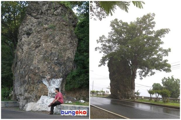 Batu raksasa Pantai Watudodol