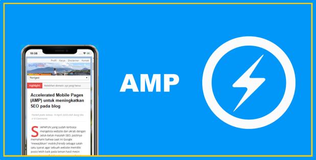 AMP untuk meningkatkan SEO blog