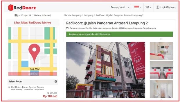 RedDoorz Jl. Pangeran Antasari 2, Lampung