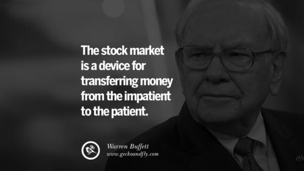 Warren Buffet stock quote
