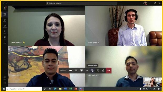 Video conference dengan Microsoft Teams