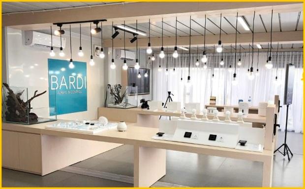 Bardi showroom