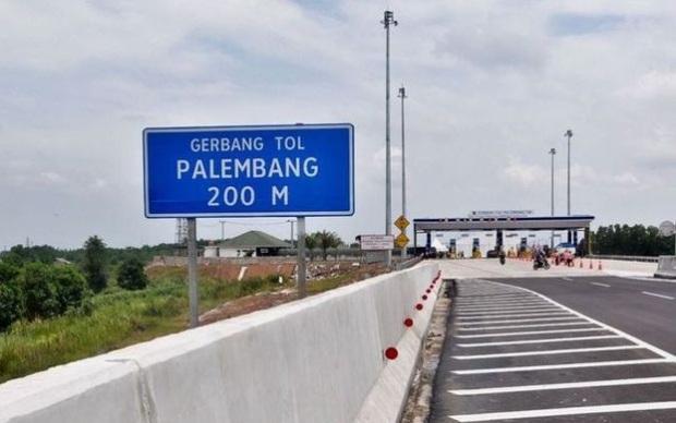 Gerbang tol Palembang