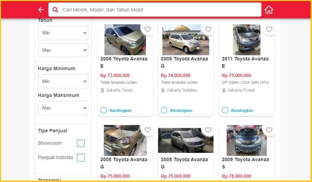Garasi.id Toyota Avanza